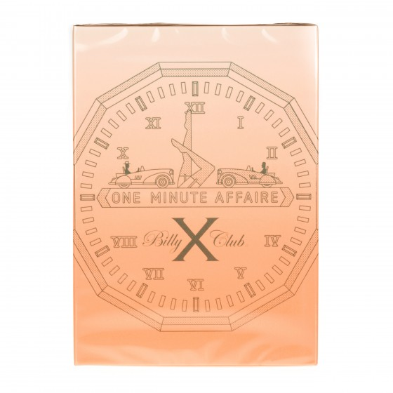Billy X Club ONE MINUTE AFFAIRE EDP